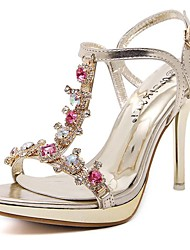 Women's Shoes Glitter/Stiletto Heels/Platform  Wedding Shoes/Party & Evening/Dress Gold