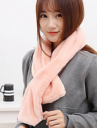 Women Faux Fur Scarf,Cute