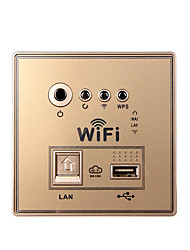 Smart Embedded Wall 150Mbps Wireless Router for Home Use