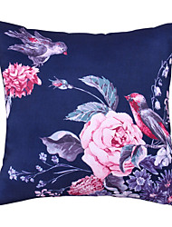 Polyester Pillow With Insert,Graphic Prints Retro 18x18 inch