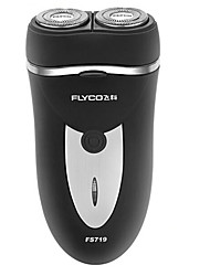 Electric Shaver Men Face Electric / Rotary Shaver Pop-up Trimmers / Pivoting Head Stainless Steel FLYCO