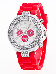 New Arrival Foreign Trade Popular Candy Color Fashion Watch Fo Women