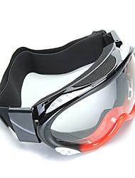 Motorcycle Motocross Enduro Ski Snowboard Protective Glasses Goggle Black&Red
