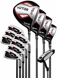 Outdoor Men Metal Wearproof Golf clubs Golf Sets Beginner Set Of 12
