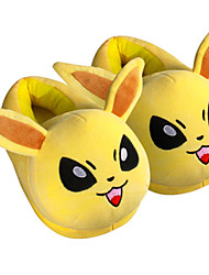 Pocket Little Monster Jolteon With Ears Kigurumi Pajamas Warm Slippers With Collar and Heel Counter 28cm