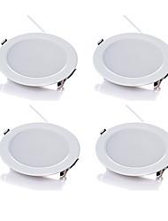 LED Encastrées Blanc Chaud Blanc Froid LED 4 pièces