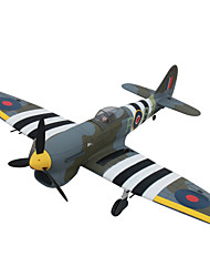 Dynam Hawker Tempest 1:8 Electrico sem Escovas 50KM/H Quadcóptero RC 5 canais 2.4G EPO Green Alguma montagem necessária