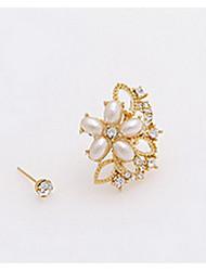 Boucle Forme de Fleur Boucles d'oreille goujon Bijoux 1pc Mode Quotidien / Décontracté Alliage Femme Argent
