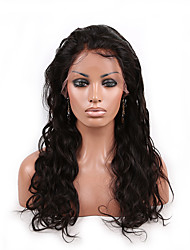 EVAWIGS 20'' Body Wave Brazilian Remy Hair Full Lace Wig Natural Black