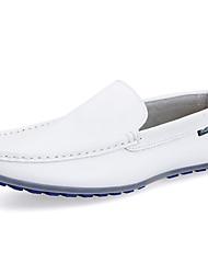 Masculino Mocassins e Slip-Ons Mocassim Sapatos de mergulho Pele Napa Primavera Verão Outono Inverno Casual FitnessMocassim Sapatos de