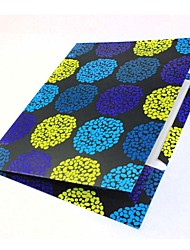A4 Booklet Bumps Flower Fashion Cute Decoration Gift School Business Multifunction Art Supply Painting Folder Covers
