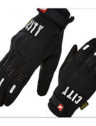 Bike Mad Motorcycle Reflective Racing Gloves Riding Touch Screen Gloves Off Road Gloves