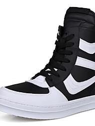 Sapatos Masculinos Tamancos e Mules Preto / Branco / Preto e Branco Couro Ecológico Ar-Livre