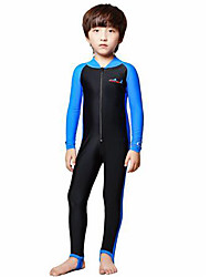 Women's Men's Kid's Wetsuits Full Wetsuit Ultraviolet Resistant Compression Full Body Tactel Diving Suit Long Sleeve Diving Suits Swimwear