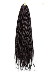 Box плетенки Спиральные плетенки Наращивание волос 18 inch Kanekalon 20 нитка 100g грамм косы волос