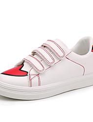 Damen-Sneaker-Outddor Lässig Sportlich-Leinwand-Flacher Absatz-Komfort-Blau Grün Rot