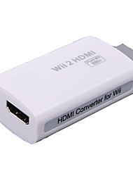 Cabos e Adaptadores - # - Wi-W2H001 - de Metal / ABS - Audio and Video - Mini / Inovador - Nintendo Wii