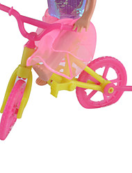 Doll Accessories Small Lori Big Kit Bike Ocean Princess Small Play House Toy Carts Kelly