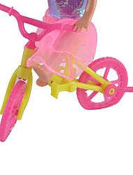 куклы аксессуары мелкие лори большой комплект велосипеда океана принцесса маленький играть дома игрушки тележки Келли
