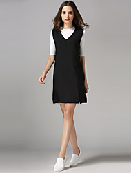 Women's New Style Sleeveless Strap Show Thin  WMSexy Dresses