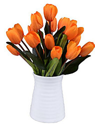 Silk Tulips Artificial Flowers