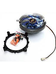 38cfm процессора Вентилятор охлаждения для настольных компьютеров 12,6 * 12,6 * 6,6