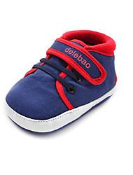Para NiñoPrimeros Pasos / Zapatos de Cuna-Bailarinas-Exterior / Casual-Tejido-Azul