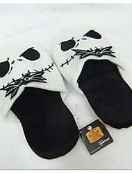 The Nightmare Before Christmas Jack Skellington Kigurumi Pajamas Warm Slippers Without Collar 28cm