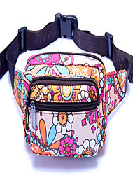 Women Canvas Casual Waist Bag Multi-color