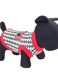 Коты / Собаки Футболка Красный Одежда для собак Лето Цветочные / ботанический Мода