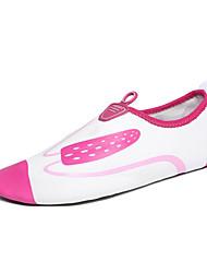 Women's Flats Synthetic Spring Fall Casual Water Shoes Flat Heel Fuchsia Green Blue