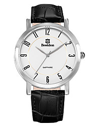Bestdon® Fashion Vintage Leather Japanese Quartz Calendar Casual Watch Japanese Quartz Men Wristwatch