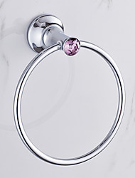 Towel Ring / Chrome / Wall Mounted /20*15*20 /Zinc Alloy /Contemporary /20 15 0.232