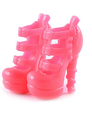 11-Inch Doll Shoes And High-Heeled Shoes Jewelry Accessories Fashion Fantasy Children'S Play Toys A Facelift Models
