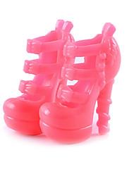 chaussures de poupée de 11 pouces et des chaussures à talons hauts jeux jouets pour bijoux accessoires mode fantaisie enfants un modèles