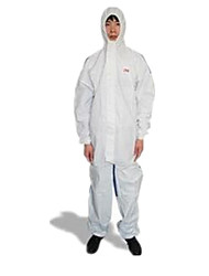 nova 3m 4535 peça vestuário de protecção terno com capuz poeira respirável