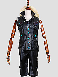Inspired by One Piece Monkey D. Luffy Anime Cosplay Costumes Cosplay Suits Print Black Vest / Pants / Cap
