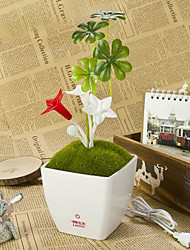 Mushroom Flowers Potted Stapelia USB Lamp LED Night Light