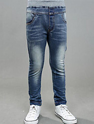 Boy's Casual/Daily Patchwork Pants / Jeans,Rayon Spring / Fall Blue