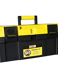 """REWIN® TOOL 17"""" Reinforced And Thickened Design Tool Box Tool Bag SIZE:40*19.5*19CM ITEM NO. WJX-8017"""