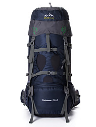75 L Travel Organizer / Backpack / Hiking & Backpacking Pack Camping & Hiking / Traveling Outdoor MultifunctionalGreen / Red / Dark Blue