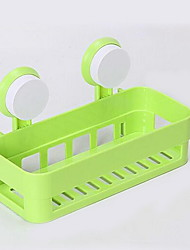 Multifunctional Shelves with Sucker for Bathroom and Kitchen (Random Colors)