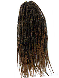 Crochet Braid Hair Senegalese Twist 14 Inch Kanekalon Braiding Hair Synthetic Braiding Hair Extensions Curly
