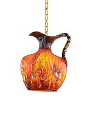 60W Modern/Contemporary Designers Others Resin Pendant LightsLiving Room / Bedroom / Dining Room