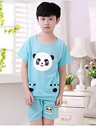 Ensemble de Vêtements / Vêtements de nuit Boy Imprimé Eté Coton