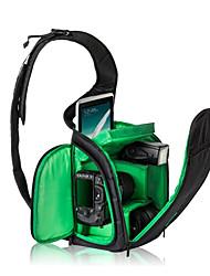 Зеленый / Оранжевый-Сумки-С открытым плечом-Водонепроницаемый / Защита от пыли-SLR- дляУниверсальный / Canon / Nikon / Olympus / Sony /
