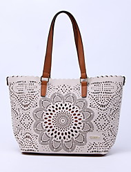 CHROIS Hollow Design Ladies Fashion Tote Bags Latest Popular Plain Handbags