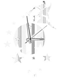 miroir horloge personnalité créative salon