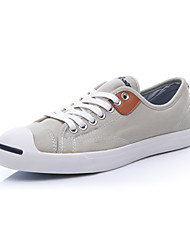 Converse Jack Purcell Jack Men's Shoes Denim Canvas Outdoor / Athletic / Casual Sneaker Flat Heel Black / Blue / White