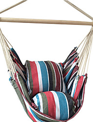 SWIFT Outdoor® Hanging Rope Chair Porch Swing Seat Hammock Cotton Outdoor Furniture New